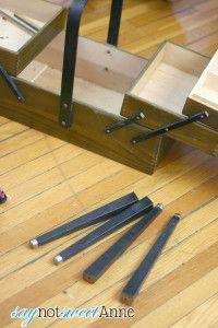 Repairing a vintage sewing box                                                                                                                                                                                 More