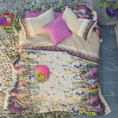 GLADIOLI by FAZZINI #bedsheets #Italy #MadeinItaly shop at www.casabiancheria.it www.casabiancheria.es