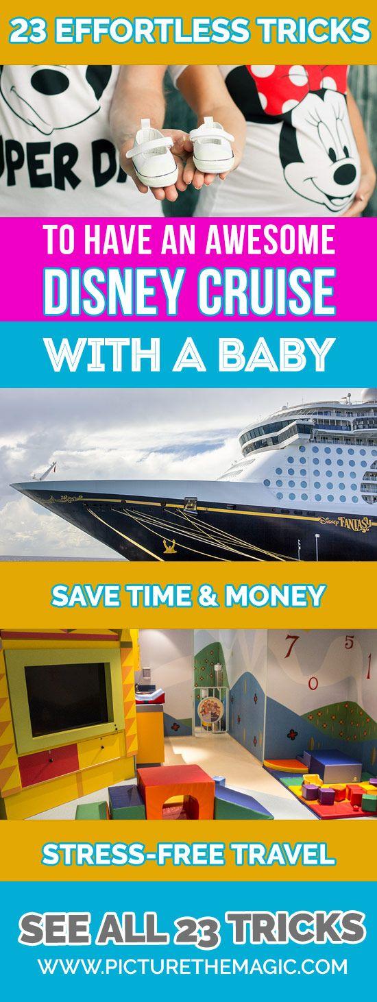 23 Tricks Disney Cruise with Baby