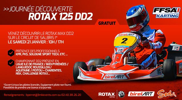 Le DD2, un kart hautes performances à tester gratuitement à Salbris