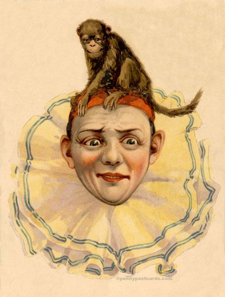 Circus I Penny Postcards