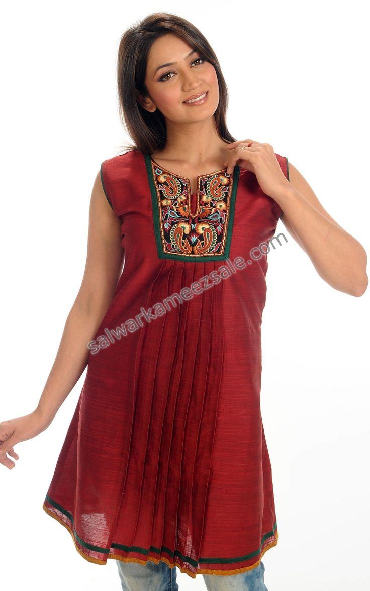 Indian Tunic and Kurtis - Designer Indian Kurtis-NOMK64