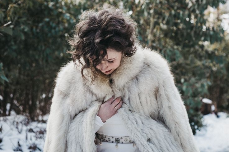 GoT themed photoshoot published on Wedshed. Hair by Janey Umback