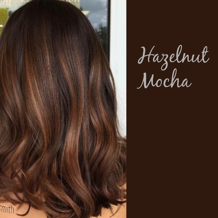 Farbe Mokka Hazelnut Mocha In 2019 | Brown Hair Balayage, Balayage