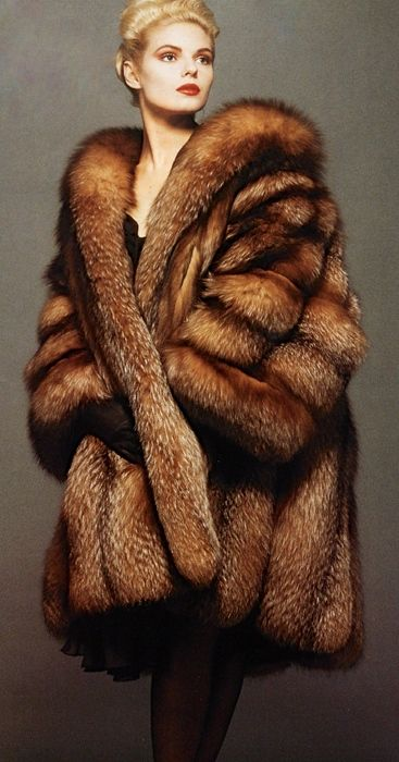 Crystal Fox Fur Coat  YOU CAN DO IT 2. http://www.zazzle.com/posters?rf=238594074174686702