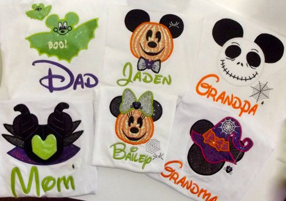 Hey, I found this really awesome Etsy listing at https://www.etsy.com/listing/201679733/halloween-mickey-and-minnie-disney