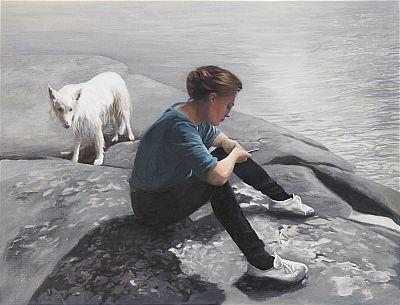 150. Karin Broos, Den vita hunden II