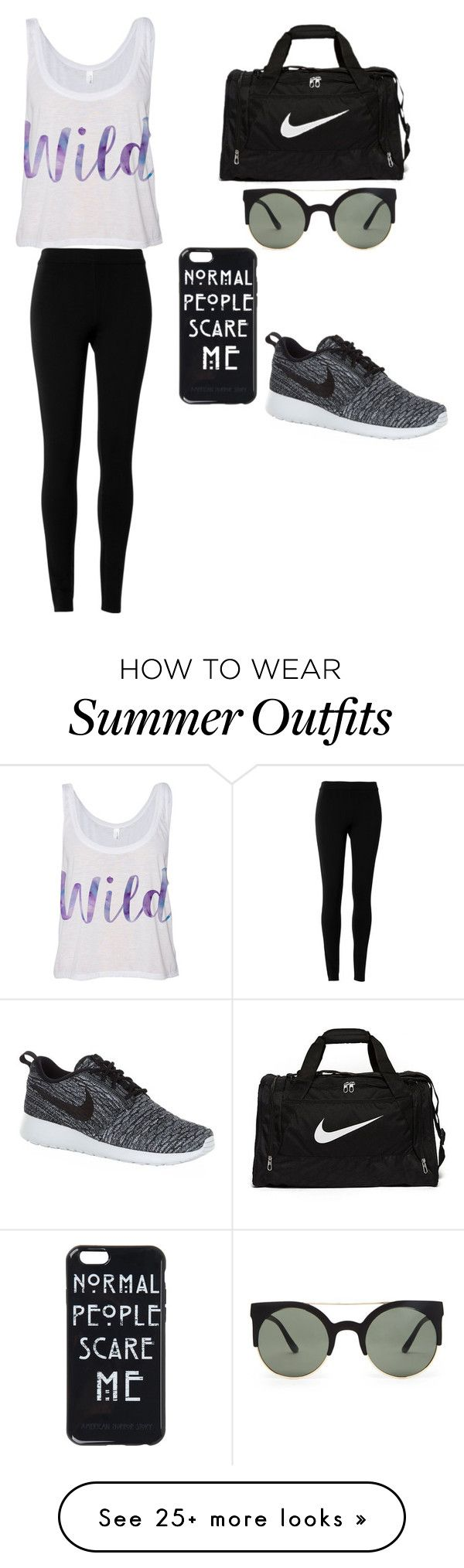 """""""Untitled #537"""" by hela-ba on Polyvore featuring Max Studio, NIKE and Forever 21"""