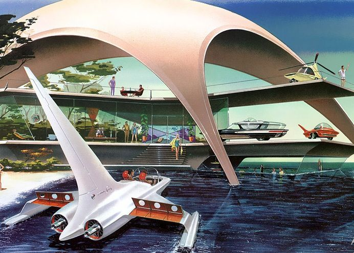 Future vacation home 1957