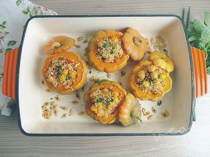 Mini Morangas Recheadas com Quinoa e Grão de Bico