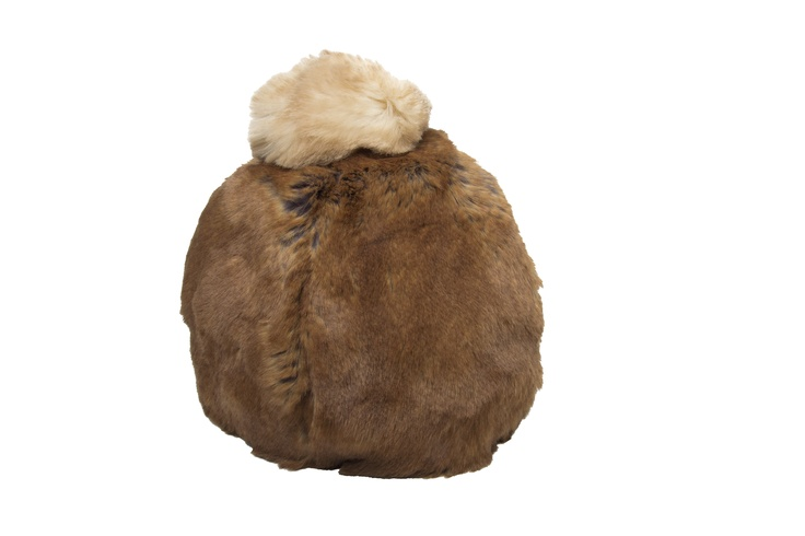 Pom Head Cosy - Margaret Mink.  Available at Fortnum and Mason