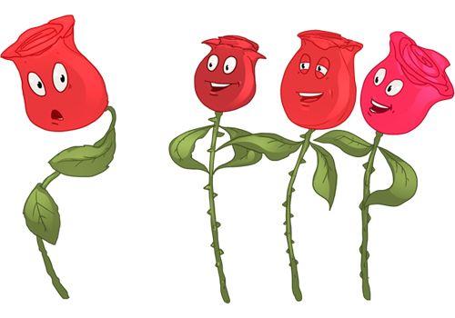 Er zijn geen rozen zonder doornen -- Bij elk geluk is er ook verdriet.