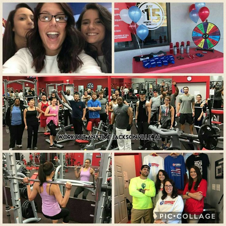 Member Appreciation Day Anytime Fitness Workout Jacksonville