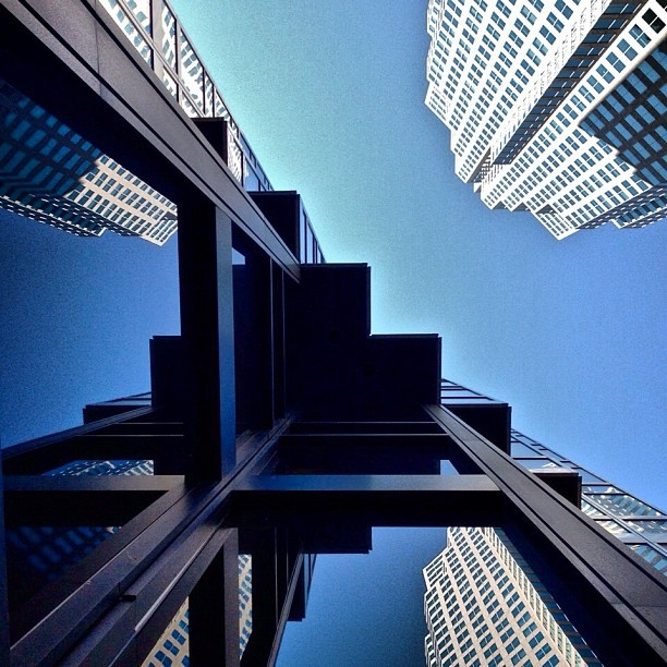 Reflecting on the Financial District. #Toronto