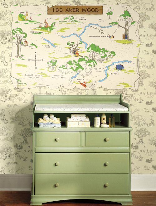 Wall Sticker Outlet: Decorate Your Nursery With Winnie the Pooh!