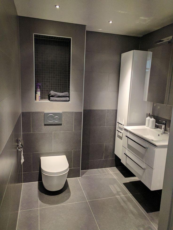 grijs wit badkamer - Google zoeken