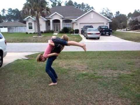 two person back handspring  acro yoga poses gymnastics