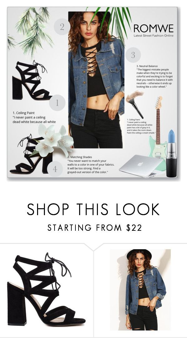 """""""hey boys, hey girls!!"""" by meghan-nana ❤ liked on Polyvore featuring MAC Cosmetics and Dyson"""