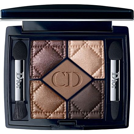 DIOR 5 Couleurs eyeshadow (Cuir cannage. Everyone must have a beautiful Dior compact of shadows in their purse or make up bag! KMW