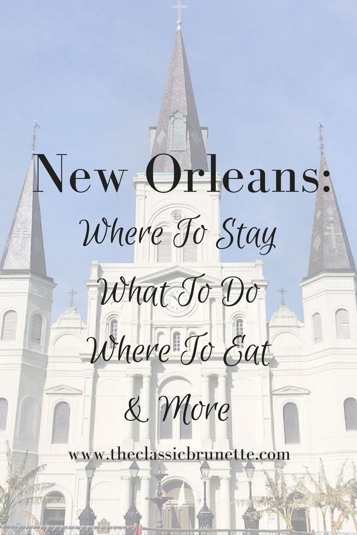 What to do in New Orleans, Louisiana. Fun places to stay, and the best restaurants in NOLA. Enjoy voodoo activities, day trips and excursions, and the best fried chicken.