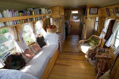 school bus converted to rv - Google Search