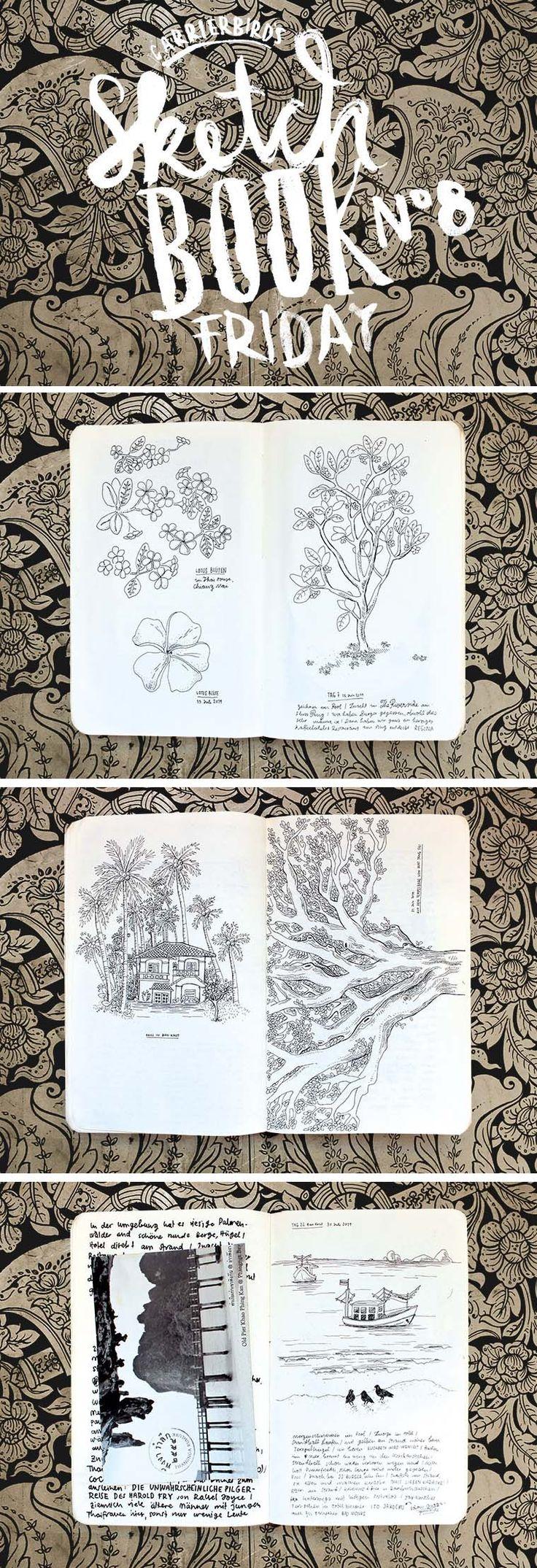 Carrier Bird's Sketchbookfriday No.08