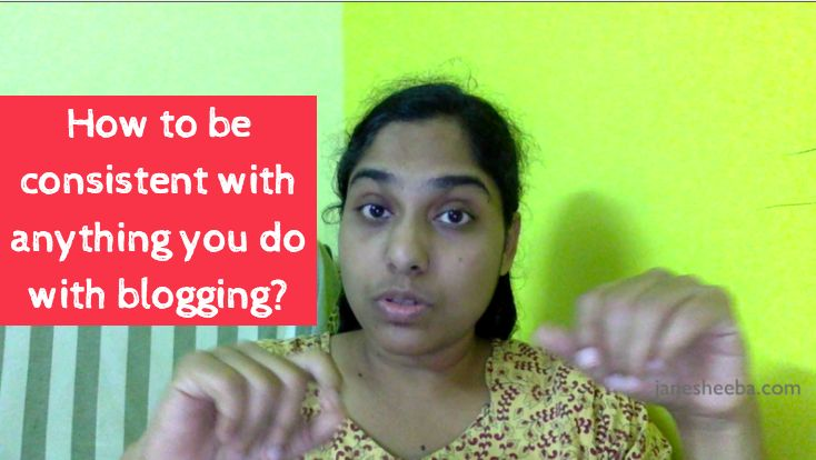 Being consistent matters a lot. In this video, you will learn how to actually be consistent with anything you do with blogging!