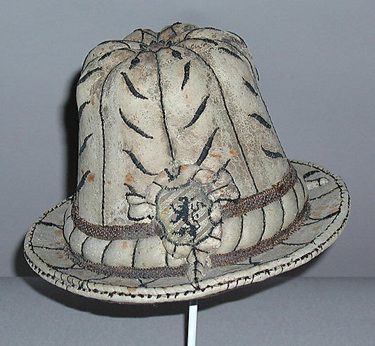 Hat  Date: late 16th century Culture: Austrian (probably)