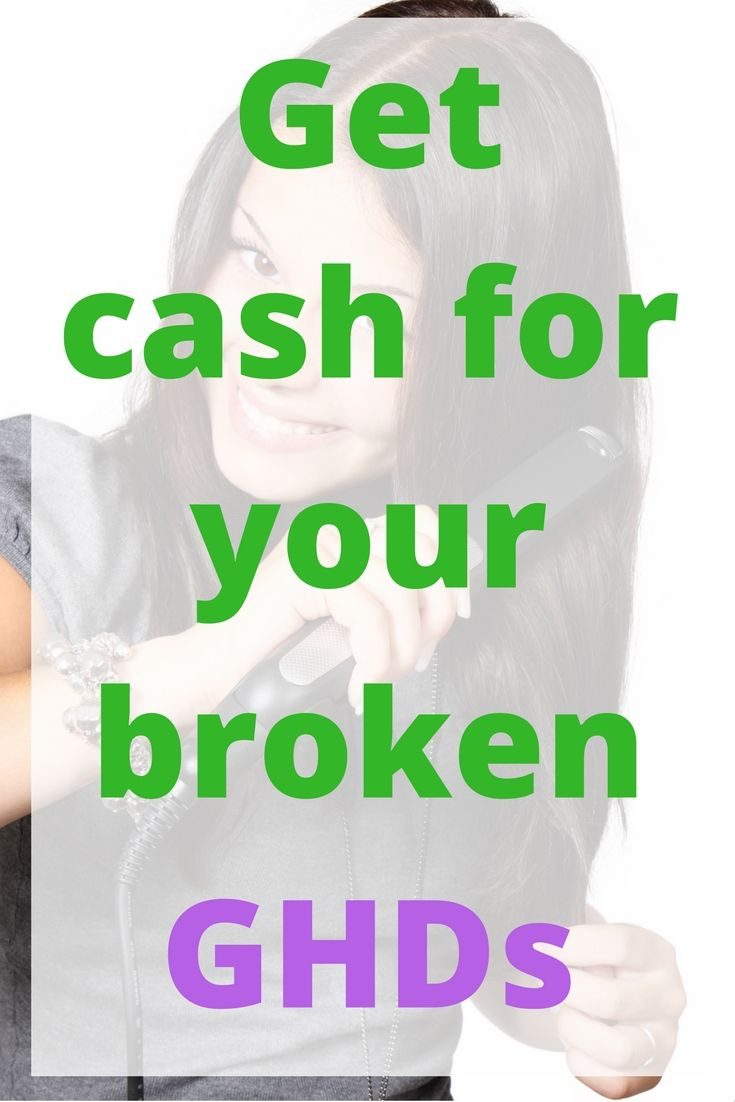 Recycle your broken GHDs for cash! That's right, you can get cash for your broken GHDs. Click through to read it or re-pin it for later.
