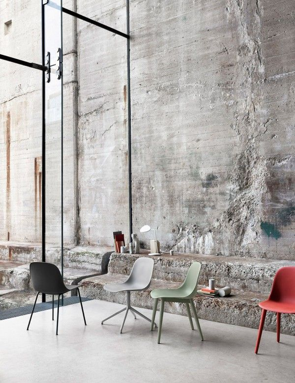 Fiber Side Chair - Modern Scandinavian Design Shell Chair by Muuto -#diningchairs #velvetchair #chairdesign comfortable chair, side chair, upholstered chairs | See more at http://modernchairs.eu