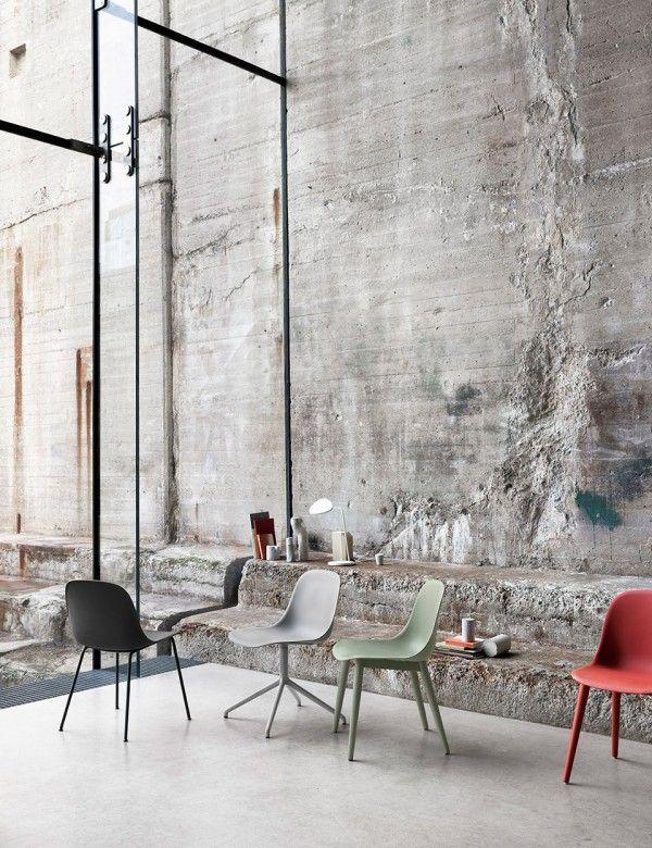 Fiber Side Chair - Modern Scandinavian Design Shell Chair by Muuto - #Muuto #muutodesign