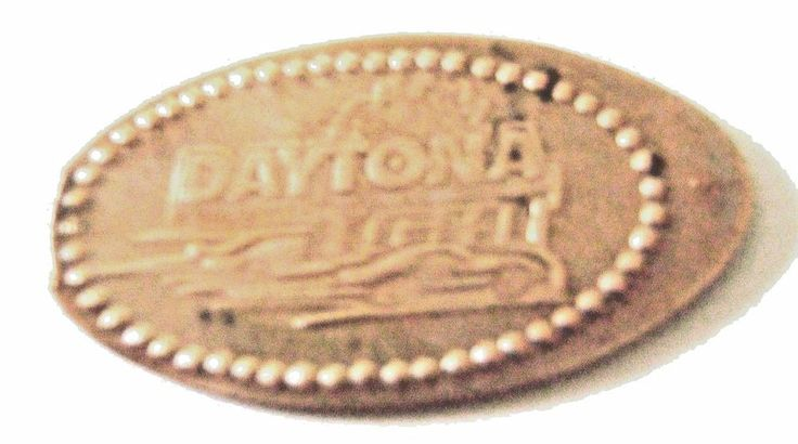 Elongated Pressed Penny -The Daytona 500 Experience,FL  DAYTONA LIGHT - RETIRED