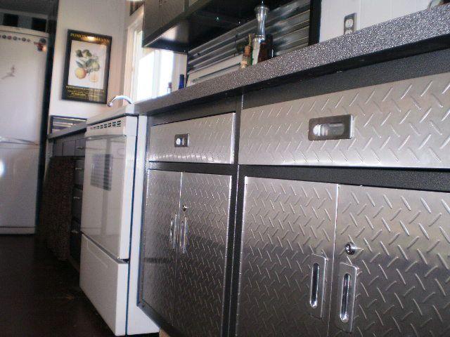 Best 25 Metal Garage Cabinets Ideas On Pinterest