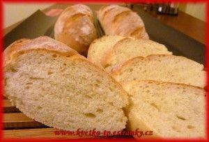 Pečení s Květkou - DOMÁCÍ PEKÁRNA - Kynuté slané pečivo  - Majolkové bagetky