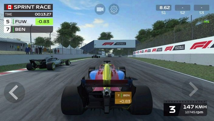 F1 Mobile Racing is a Free Android New Racing Mobile