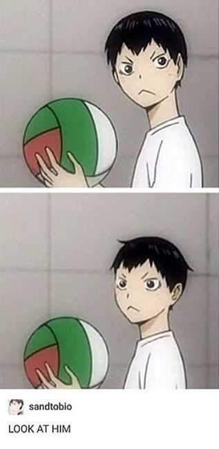 Awww, baby Kags was such a cutie pie :3                                                                                                                                                      More