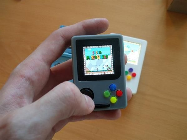 3ders.org - This tiny 3D printed 'Gameboy' Raspberry Pi Zero will take you back to the 90s | 3D Printer News & 3D Printing News