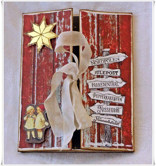Jorunns fristed: Christmas Card. God jul.