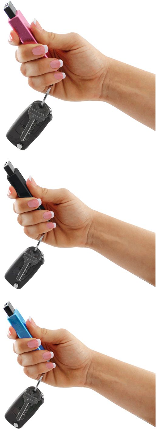 Just by looking at this compact self defense unit, you wouldn't think twice. Is it a small perfume container?   Most people won't look twice...