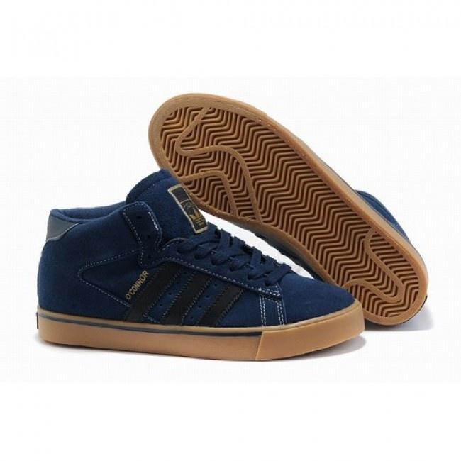 Femmes Adidas Campus Vulc Mid bleu Chaussures €66.71 http://www.jeremyscottvip.com