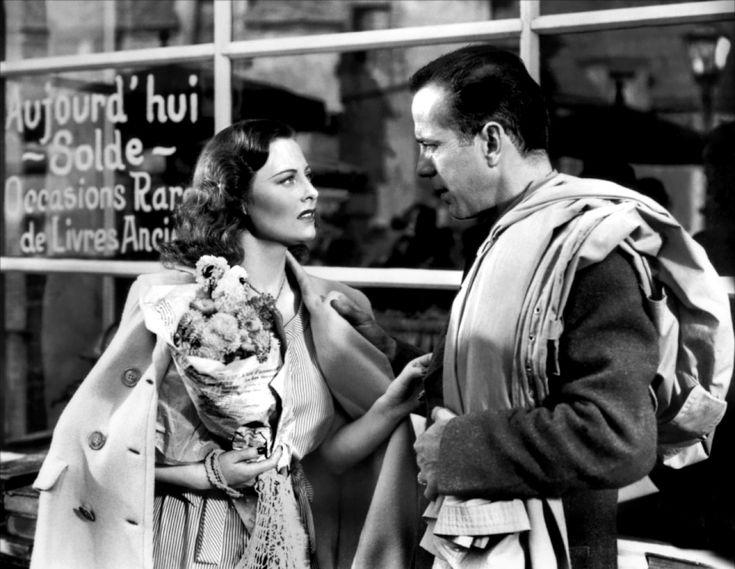 Michèle Morgan and Humphrey Bogart Passage to Marseille 1944