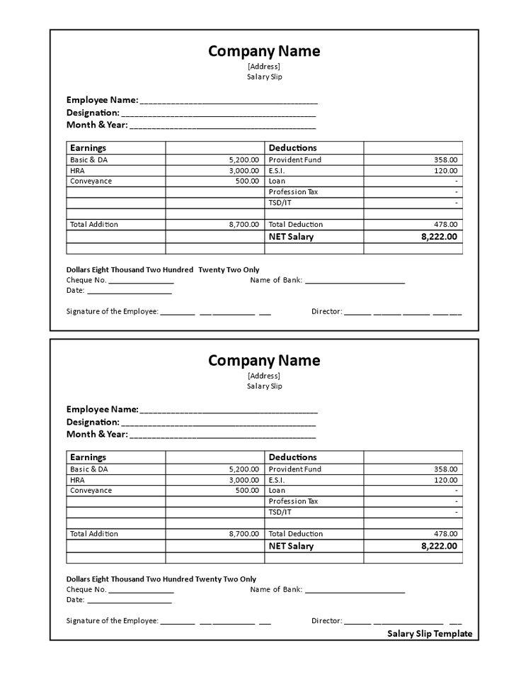 Salary Receipt Voucher How To Create A Salary Receipt Voucher