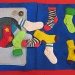 Sock Matching Quiet Book Page ...