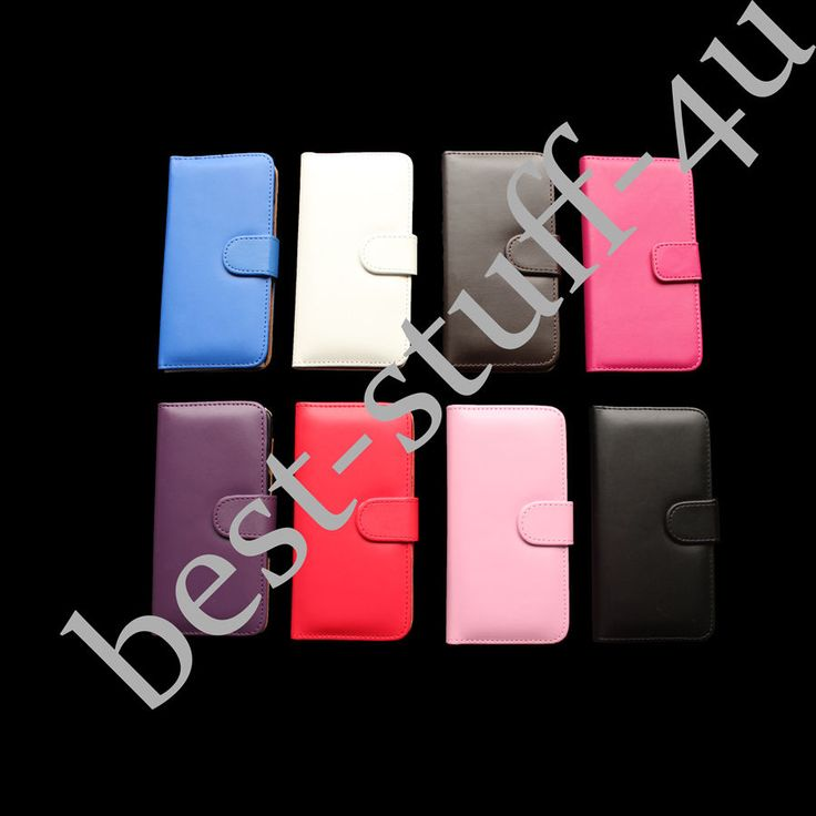 Flip Leather Wallet 173 Case Cover iPhone 5 6 Free Screen Protector Mobile Phone