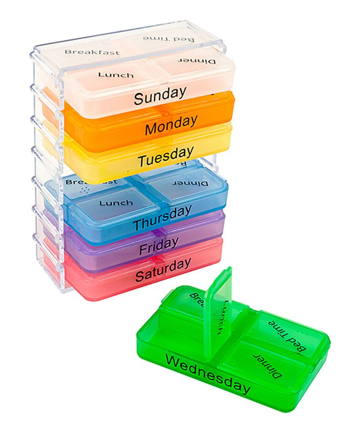 Take a look at this Remedy Daily Pill & Vitamin Organizer today!