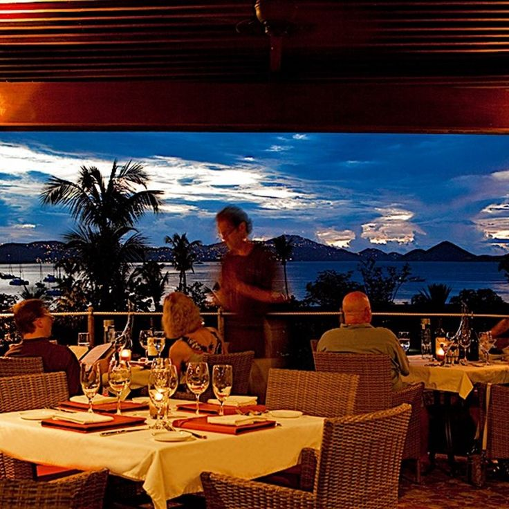 Restaurants in St John USVI | Caneel Bay Resort | US Virgin Islands