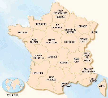 overzicht van kleine campings in frankrijk