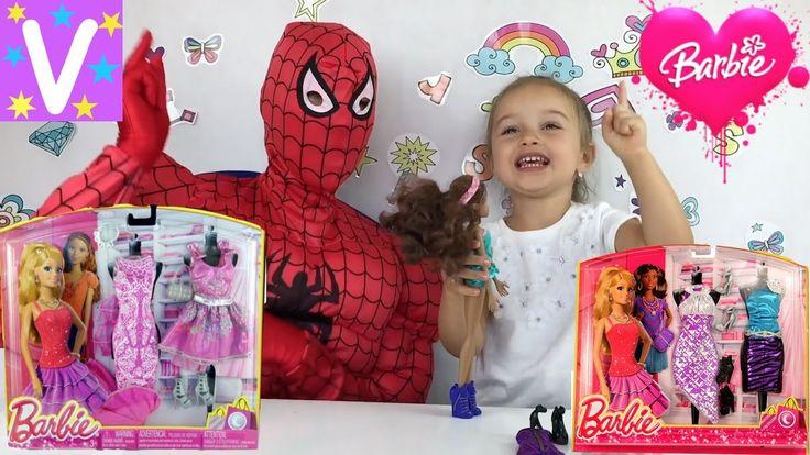 Кукла как у МИСС КЕЙТИ похожа на БАРБИ 👗 примеряем МНОГО нарядов 👠 Видео...