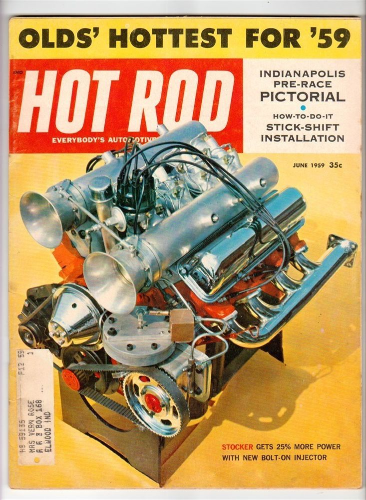 US $6.94 Good in Books, Magazine Back Issues | Hot Rod Engines ...