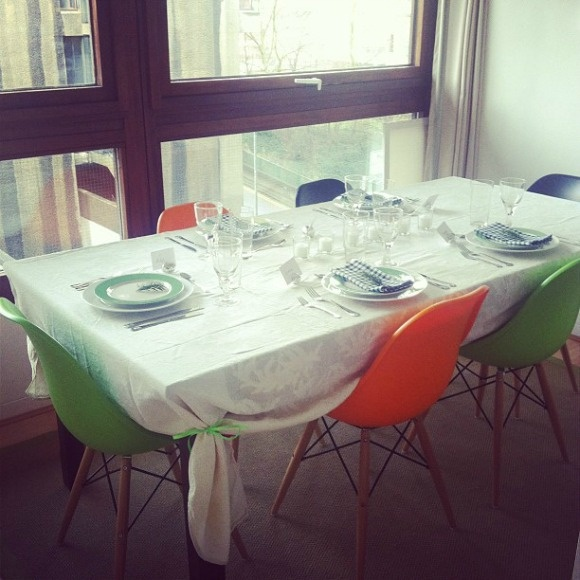 A Diary of Lovely: Christmas table